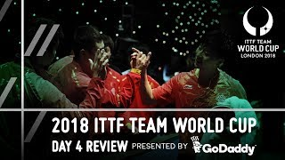 2018 ITTF Team World Cup | GoDaddy Day 4 Review