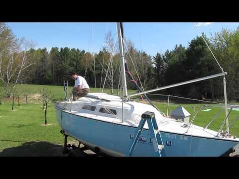 Gin Pole Mast Raising System - PY23 Paceship.mov