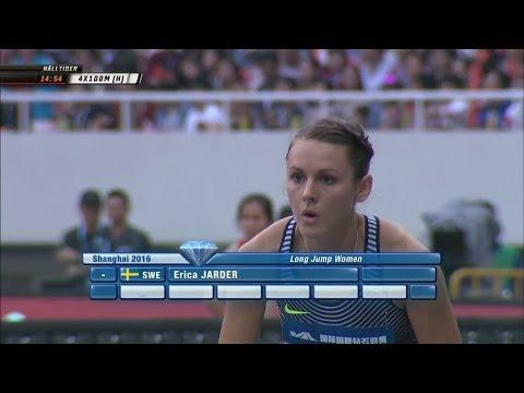Jarder misslyckades i Shanghai - hoppade bara 6,11  - TV4 Sport