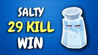So close to the 30 bomb! | Solo vs Squad (Fortnite Battle Royale)