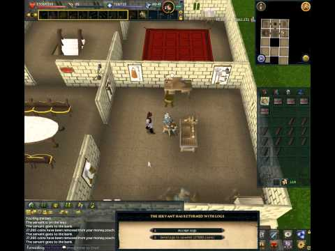 RuneScape – Fastest way to train Construction from Level 52 to 99 (Expensive method!)
