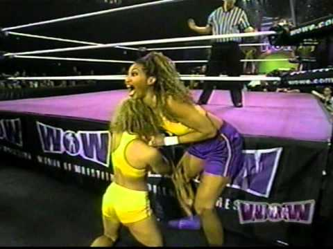 Women Of Wrestling - Episode 21: Part 3 - Slam Dunk Vs Roxy Powers (strap Match) video