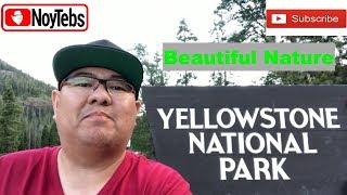 Yellowstone Nation Park I Travel I Noytebs Vlog