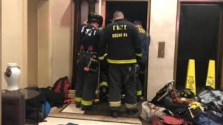 Man Crushed to Death by Falling Elevator
