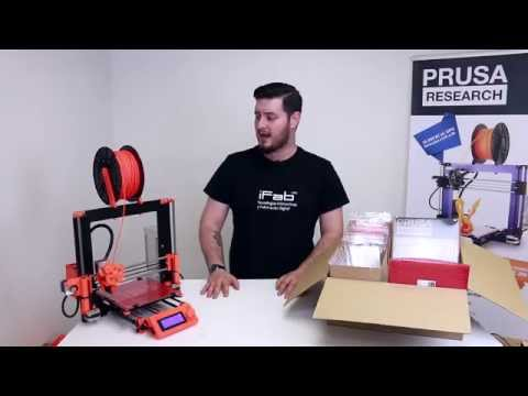 Original Prusa i3 3D Printer kit info
