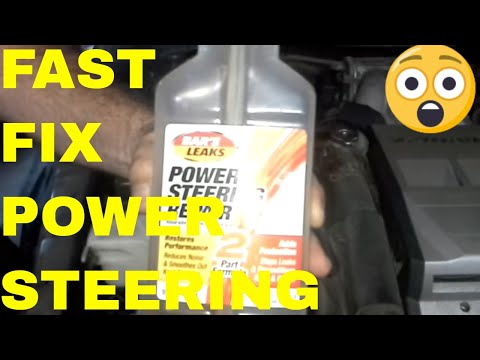 Fix Power Steering Leak and Noise For Less than $10
