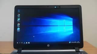 HP ProBook 450 G2 notebook teszt