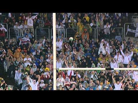 RWC 2003 Top Moments No 6: Prince Harry celebrates Jonny drop goal vs France