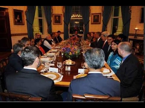 Modi Meets Obama For Private Dinner At The White House - India TV