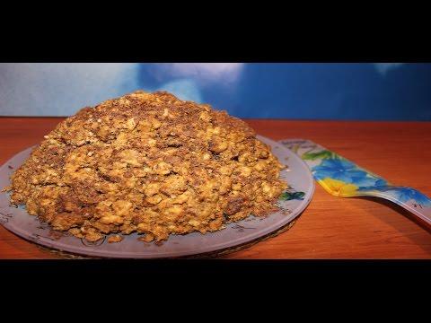 Легкий рецепт в торт муравейник