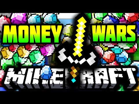 OVERPOWERED GOD WEAPONS! - Minecraft 1.9 MONEY WARS #6