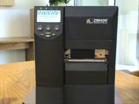 Pay for paper zebra printer zm400