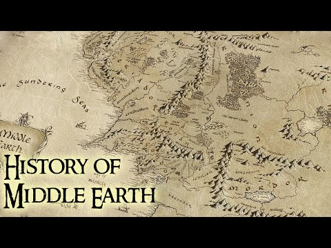 History Of Middle Earth - Lord Of The Rings