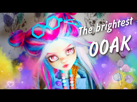 Repaint! FRANKIE STEIN Custom OOAK Monster High Doll custom