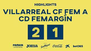 Highlights Femenino A 2-1 CD Femarguín