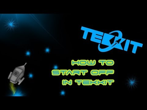 Tekkit guide: How to start off in Tekkit Part 1