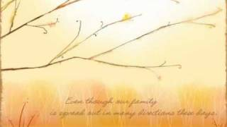 Musical Animated Thanksgiving Message