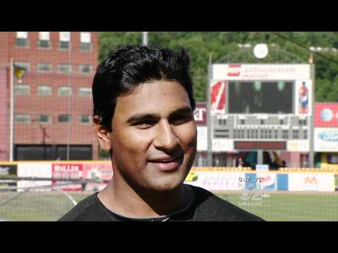 Rinku Singh, Pittsburgh Pirates - 1st Indian Born Professional Baseball Player