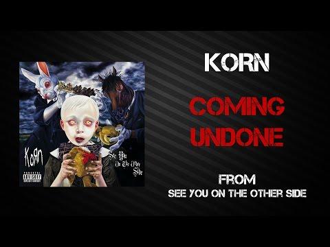 Korn - Coming Undone [Lyrics Video]