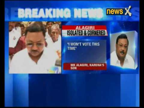 DMK Chief M Karunanidhi names younger son Stalin as his heir; Won't vote, says Alagiri