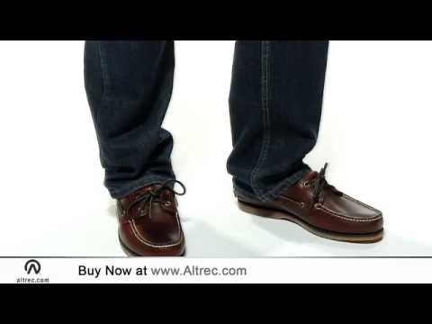 Video: Men's Classic 2 Eye Boat Shoe