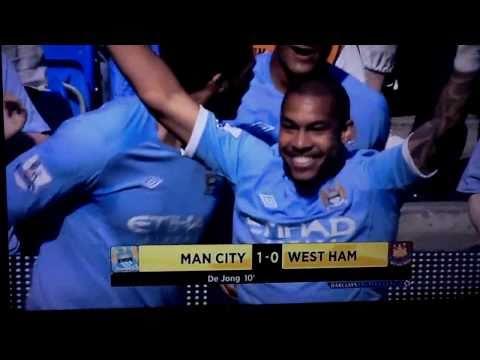 Nigel De Jong First City Goal v West Ham