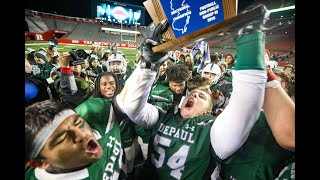 HIGHLIGHTS: DePaul holds off Mater Dei to win NJSIAA Non-Public, Group 3 football championship