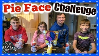 FAMILY PIE FACE CHALLENGE