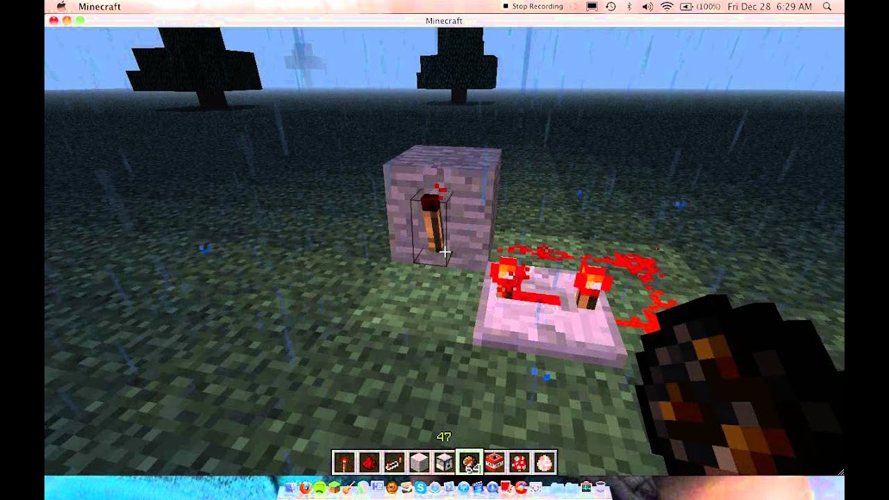 how to make a redstone repeater in minecraft
