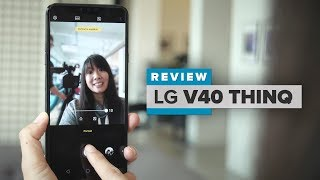 LG V40 ThinQ review: 5 cameras, a big screen and a headphone jack