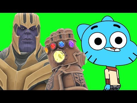 Can Thanos' INFINITY GAUNTLET Kill GUMBALL from The Amazing World of Gumball in Gmod?