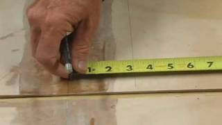 06. Measure and Mark Keel Seam
