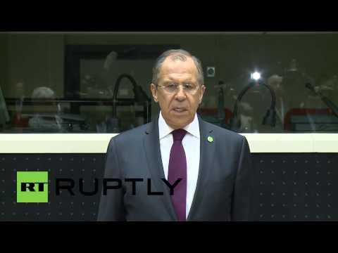 Belgium: Lavrov touts Council of Europe's role in mediating Ukraine crisis