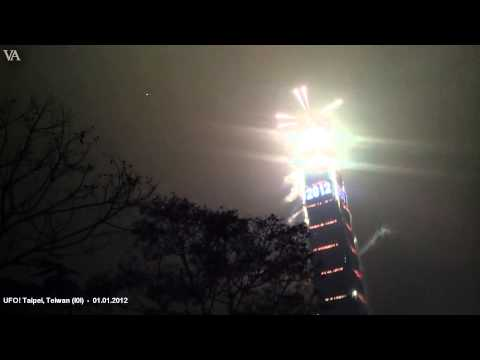 UFO! - Taipei, Teiwan (101) - 01.01.2012 - filmed by more than 7 cameras - Part 02