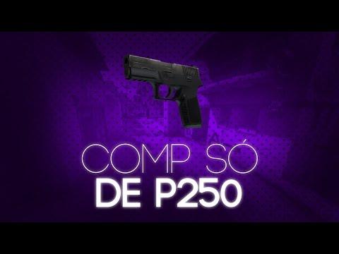 JOGANDO COMP SÓ USANDO P250 (E SENDO ACUSADO DE HACK) - CS:GO
