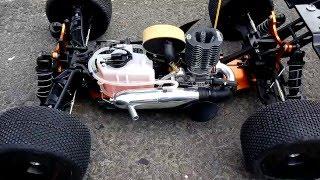 Hobao Hyper SS Truggy 28 Break in Engine