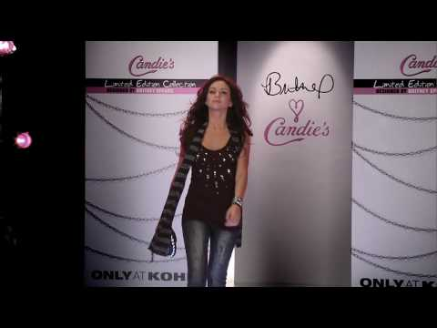 Britney Spears - Candie s Runway Fashion Show