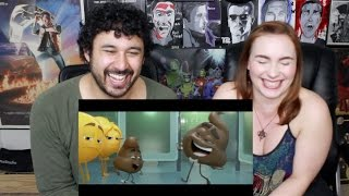 THE EMOJI MOVIE TRAILER #1 REACTION & REVIEW!!!