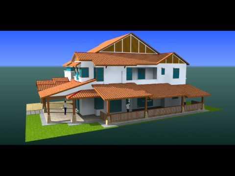 Lukisan 3D ubahsuai Rumah Semidi 2 tkt seksyen 35