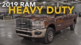 2019 Ram 2500 & 3500 Heavy Duty First Look - 2019 Detroit Auto Show