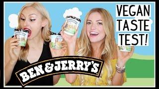VEGAN TASTE TEST: Ben & Jerry's Non-Dairy Ice Cream