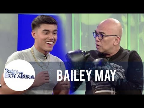 Tito Boy shows his skill in boxing with Bailey May | TWBA