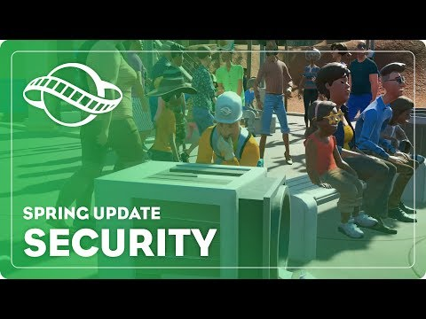 Planet Coaster - Spring Update: Security
