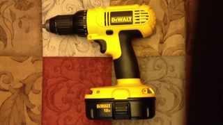 18v Dewalt Cordless Drill Driver DC970K-2 Review