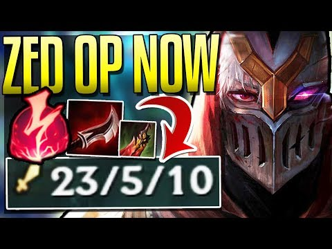 ZED IS SO BUSTED WITH NEW RUNES! How Do You Stop This? - League of Legends