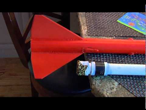 Building and Launch of a Rcandy Rocket - SKS2