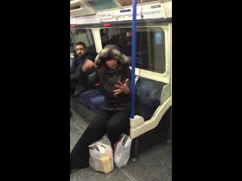 Dangers of London tube travel - encountered a fight on my way to work one morning