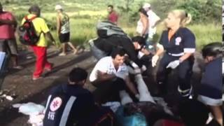 Fourteen people dead, 21 injured in Brazil motorway accident   Mail Online