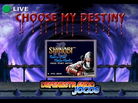 Defenestrando Jogos Shinobi III Return of the Ninja Master CHOOSE MY DESTINY#31