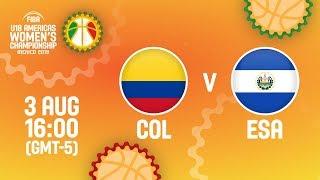 Колумбия до 18 (Ж) : Сальвадор до 18 (Ж)
